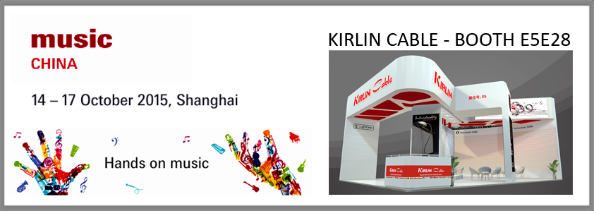 MUSIC CHINA 2015 KIRLIN BOOTH E5E28