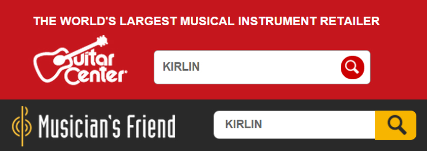 Kirlin Cable is very pleased to announce that we are now available for purchase on guitarcenter.com and musiciansfriend.com.